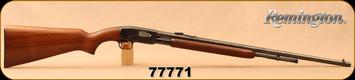 "Consign - Remington - 22L/S - Model 121 Fieldmaster - Pump Action - Walnut/Blued, 24""Barrel"