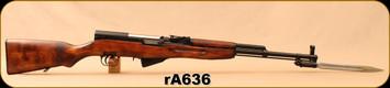 """Consign - Tula Arsenal - 7.62x39 - SKS - Wood/Blued, 20""""Barrel, bayonet, 1952"""