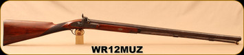 "Consign - W. Richards - 12Ga/30"" - Model 4 Muzzleloader - Walnut straight-grip stock"