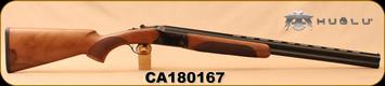 "Huglu - 20Ga/3""/26"" - 103D - O/U - Turkish Walnut/Case Hardened Receiver & Trigger Guard/Blued Barrel, single trigger, 5pc. Mobile Choke, SKU# 8681744309004, S/N CA180167"