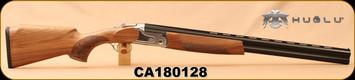 "Huglu - 12Ga/3""/26 - S12E - Ladies/Youth O/U - Turkish Walnut/Silver Receiver/Chrome-lined barrels, M Choke, SKU# 8681715390833, S/N CA180128"