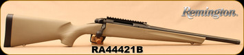 "Used - Remington - 308Win - 783 Synthetic - Bolt Action Rifle - FDE Synthetic Stock/Matte Blued Finish, 16.5"" Heavy Threaded Barrel, 4 Rounds, Crossfire Trigger, Mfg# 85765 - New, In original box"