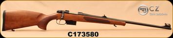 "CZ - 223Rem - Model 527 Lux - Bolt Action Rifle - Turkish Walnut, Bavarian-Style Stock/Blued, 23.6""Barrel, 1:9""Twist, Single set trigger, S/N C173580"