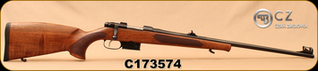 "CZ - 223Rem - Model 527 Lux - Bolt Action Rifle - Turkish Walnut, Bavarian-Style Stock/Blued, 23.6""Barrel, 1:9""Twist, Single set trigger, S/N C173574"
