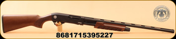 "Huglu - 20Ga/3""/26"" - Atrox-S - Walnut/Black Receiver/Blued - c/w 3 PCS. Additional Mobile Choke set - Bruised Stock"