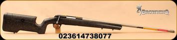 "Browning - 6.5PRC - X-Bolt Max Long Range - Black & Grey Textured Composite Max Adjustable Stock/Satin Grey Stainless, Fluted, Heavy Sporter, 26""Barrel(28""w/muzzle brake), 1:7""Twist, Mfg# 035438294"
