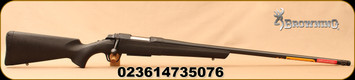 "Browning - 6.5Creedmoor - AB3 Stalker Long Range - Bolt Action Rifle - Black Composite Stock/Blued Finish, 26""Heavy Sporter Barrel, 4 Round Detachable Magazine, Muzzle Brake, Mfg# 035818282"