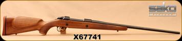 "Sako - 300WM - Model 85 Hunter - Left Hand - Monte Carlo Style Oil Walnut Stock w/Palm Swell/Matte Blue, 24.5""Light Hunting Contour Barrel, 4rd Detachable Magazine, 2-4lb Adjustable Trigger, Mfg# SAX33H61C, S/N X67741"
