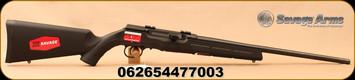 """Savage - 17 mach 2- Model A17 HM2 - Semi Auto Rimfire Rifle - Synthetic Stock/Matte Black Finish, 20"""" Barrel"""