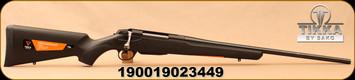 "Tikka - 260Rem - T3x Lite - Black Synthetic/Blued, 22.4""Barrel, 1:8""Twist, 3rd Detachable Magazine, Standard Adjustable Trigger, Mfg# TF1T61LL103"