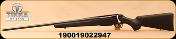 "Tikka - 300WM - T3x Lite - LH - Bolt Action Rifle - Black Modular Synthetic Stock/Blued, 24.3""Barrel, Mfg# TF1T33LL113"
