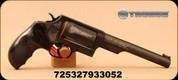 """Taurus - 45LC/.410 Bore - Judge - Revolver - Custom Dymondwood w/Finger Grooves Grips/Engraved Black Finish, 6.5"""" Barrel, 2.5"""" Chamber, 5 Rounds, Mfg# 2-441061T-ENG1"""