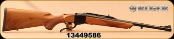 """Ruger - 44RemMag - No.1-S Medium Sporter - American Walnut/Blued, 20""""Barrel, Mfg# 21301, S/N 13449586"""