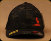 Prophet River - Side Logo Flexfit Hat - Black Multicam - S/M