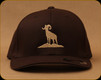 Prophet River - Centre Logo Flexfit Hat - Brown - S/M