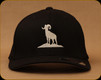 Prophet River - Centre Logo Flexfit Hat - Black - S/M