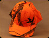 Prophet River - Side Logo Full-Fit Hat - Realtree AP Blaze Hunter Orange