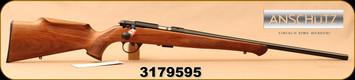 "Anschutz - 22LR - 1712 Silhouette Sporter - Walnut Monte Carlo Stock/Blued, 22""Barrel, two-stage trigger, Mfg# 007594, S/N 3179595"