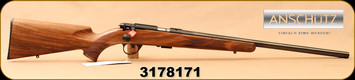 "Anschutz - 22LR - 1710 HB Walnut Classic - Walnut Monte Carlo Stock/Blued, 23""Heavy Barrel, 5109 two-stage trigger, Mfg# 013297, S/N 3178171"