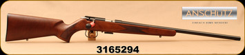 "Anschutz - 22WMR - 1516 D HB Classic - Walnut Classic Stock/Blued, 23""Heavy Barrel, Single-Stage Trigger, Mfg# 013574, S/N 3165294"
