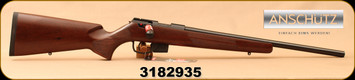 "Anschutz - 22LR - 1761 D HB Classic - Bolt Action Rifle - Walnut Classic Stock/Blued, 20.25""Barrel, single-stage trigger, 5 round detachable magazine, Mfg# 014527, S/N 3182935"