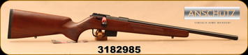 "Anschutz - 22LR - 1761 D HB Classic - Bolt Action Rifle - Walnut Classic Stock/Blued, 20.25""Barrel, single-stage trigger, 5 round detachable magazine, Mfg# 014527, S/N 3182985"