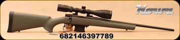 "Howa - 6.5Grendel - Mini Action Game Pro Pkg - OD Green HTI Stock/Blued, 22""Barrel, Stirling Game King 3.5-10x44 AO, IR Plex, Sideplex, Mfg# HMA60603+P"