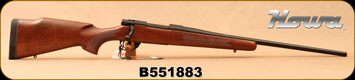 "Howa - 308Win - M1500 Hunter American - Bolt Action Rifle - Italian Walnut Stock/Matte Blued, 22""Barrel, 1:10""Twist, Mfg# HHR53101 - Small mark on stock"
