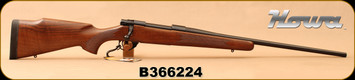 "Howa - 30-06Sprg - M1500 Hunter American - Bolt Action Rifle - Italian Walnut Stock/Matte Blued, 22""Barrel, 1:10""Twist, 4+1 rounds, Mfg# HHR53201 - Small mark on stock"