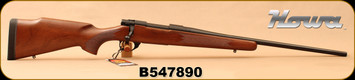 "Howa - 243Win - M1500 Hunter American - Bolt Action Rifle - Italian Walnut Stock/Matte Blued, 22""Barrel, 1:10""Twist, 4+1 rounds, Mfg# HHR52101 - Small mark on stock"
