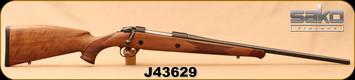 "Consign - Sako - 30-06Sprg - 85M Bavarian - High-grade walnut stock w/rosewood forearm tip/Blued, 22.4""Barrel - New, Unfired in box"