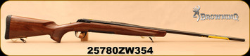 "Used - Browning - 7mmRemMag - X-Bolt Medallion - LH - Bolt Action Rifle - Gloss Black Walnut w/Polished Blued, 26""Barrel - Unfired, in box"
