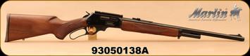 "Consign - Marlin - 45-70Govt - Model 1895 - JM Stamped - Lever Action - Walnut Stock/Blued, 22""Barrel - Only 40 rounds fired"