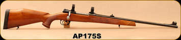 "Consign - Parker Hale - 308Norma - Safari Super - Walnut Stock/Blued, 22""Barrel, Hooded Front Sight, 1""Rings"