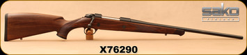 "Sako - 270Win - 85M Bavarian - Oil-Finish Walnut Stock w/Rosewood forend tip/Matte Blued, 22.4""Barrel, Mfg# SCW21E610, S/N X76290"