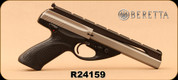 "Consign - Beretta - 22LR - U22 Neos 6.0 -  Black Modular/Inox, 6""Barrel, 2 stainless magazines - In original case"