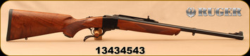 "Consign - Ruger - 475 Linebaugh/480 Ruger - No. 1 Medium Sporter - Single Shot Rifle - American Walnut Stock/Blued Barrel, 22""Barrel, Mfg# 11337, 20pcs Brass - Only 80 rounds fired - In original box"