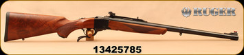 "Consign - Ruger - 458Lott - No. 1-H Tropical - American Walnut/Blued, 24""Heavy Barrel, c/w peepsight, Hornady Dies & Brass"