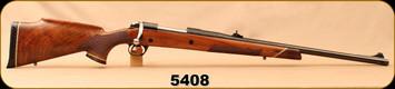 "Used - Herters - 458WM - Model U-9 - Walnut Stock w/Ebony Forend tip & Grip Cap/Blued, 23.5""Barrel, Adjustable rear sight"