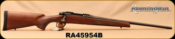 "Remington - 6.5Creedmoor - Model 783 Walnut - American Black Walnut/Blued, 22""Barrel, Crossfire Adjustable Trigger, MFG# 85866, S/N RA45954B"