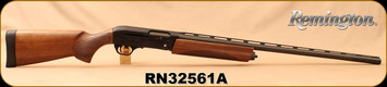 "Remington - 12Ga/3""/28"" - Model V3 Field Sport - Semi Auto Shotgun - Black Oxide, Walnut Stock and Fore-end, Vent Rib Barrel,  3rds, Twin Bead Sights, Rem Choke (Modified) - Mfg #83420, S/N RN32561A"