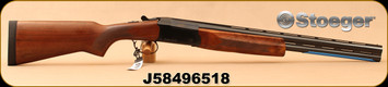 "Stoeger - 20Ga/3""/22"" - Condor I Youth - O/U - A-Grade Satin Walnut Stock/Blued, Ventilated Barrels, IC, M Chokes, Mfg# 31036, S/N J58496518"