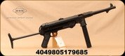 "GSG - 9mm - MP-40 - Restricted - Semi-Auto - Black Folding Stock/Blued, 9.96""Barrel, Active Ejector, Folding Rear sight, Mfg# 940.00.03"