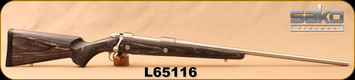 "Used - Sako - 375H&H - 85L Laminate Stainless - Bolt Action Rifle - Grey Laminate/Stainless, 24.3""Barrel, very low rounds"