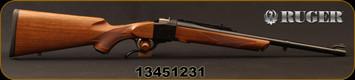 """Ruger - 475Linebaugh - No.1S Medium Sporter - American Walnut Stock w/Alexander Henry Forearm/Blued, 20""""Barrel, Mfg# 21311, S/N 13451231"""