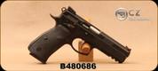 "Consign - CZ - 9mm - 75 SP-01 Shadow - Black Rubber Grips/Black Finish, 4.5""Barrel, 3 magazines - In original case, c/w Fab Defense Bridge Mount, Scorpion Prismatic Sight"