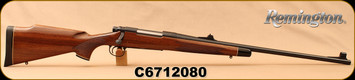 "Used - Remington - 300WM - Model 700 - Bolt Action Rifle - Walnut Stock/Blued, 24""Barrel, Hooded front sight"