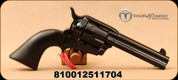 "Taylor's & Co - 45LC - Devil Anse - Single Action Revolver - Black Wood Grip/Blued, 4.75""Barrel, 6 round cylinder, (Devil Anse Hatfield), Mfg# 555161"