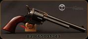 "Taylor's & Co - 38-40 - 1873 Cattleman Standard - Single Action Revolver - Walnut Grips/Case Hardened Frame/Blued, 7.5""Barrel, Mfg# REV702D"