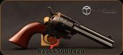 """Taylor's & Co - 22LR - 1873 Cattleman 12-Shot - Single Action Revolver - Walnut Grips/Case Hardened Frame/Blued, 4.75""""Barrel, 12 rounds, Mfg# 4051"""
